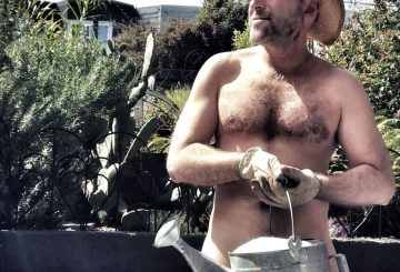 World Naked Gardening Day (NSFW)