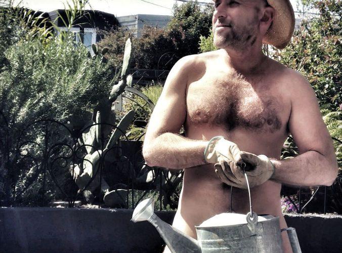 World Naked Gardening Day (NSFW)